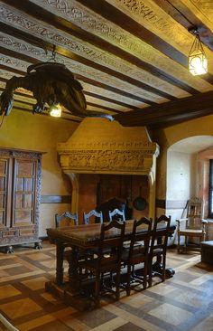 staircase in castello di haut-kœnigsbourg in orschwiller ~ alsace