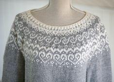 Ravelry: Selja pattern by Katrine Fair Isle Knitting Patterns, Sweater Knitting Patterns, Knitting Stitches, Free Knitting, Sock Knitting, Needlepoint Stitches, Knitting Machine, Vintage Knitting, Norwegian Knitting