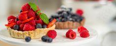 Mini košíčky s chia semiačkami a ovocím