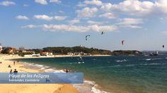 Kitesurf à Santander, Où faire du kitesurf en vacances à Santander ? Réponse dans cet article illustré d'une vidéo et de photos des différentes plages de Santander (Espagne) où il est possible de faire du kite.