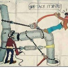 Thanks @Goin__4_broke for the submission happy Monday all! Now lets go get it #ljweldingfans #welderlife #welderproblems #weldmoney #pipelinewelders #pipewelders