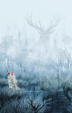 Anato finnstark Illustrations : Photo Princess Mononoke