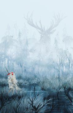 Anato finnstark Illustrations : Photo Princess Mononoke