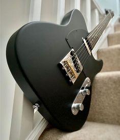 Black Telecaster, Telecaster Custom, Fender Telecaster, Fender Guitars, Black Electric Guitar, Custom Electric Guitars, Music Guitar, Guitar Amp, Joe Bonamassa