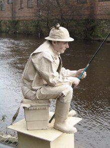 Richard Gillet - The Fisher Man Human Statue - Sheffield