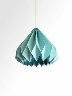 Origami Lampenschirm Anleitung und tolle Beispiele