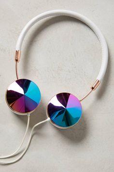 Frends Layla Headphones - Interchangeable Enamel Headphone Caps http://www.wearefrends.com/layla-headphones/