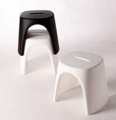 tabouret design empilable à usage professionnel AMELIE by Italo Pertichini SLIDE
