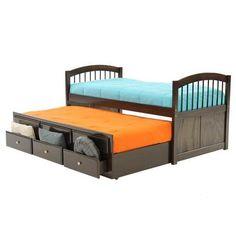 El Dorado Furniture Triplex Captain Trundle Bed New Arrival Storage Drawers Es