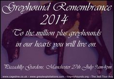 Greyhound Remembrance 2014