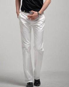 Men's Slim Fit Business Dress Pants