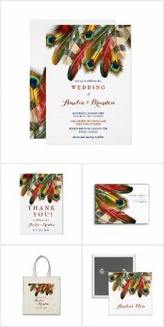 Bold Beautiful Eagle & Peacock Feathers Wedding