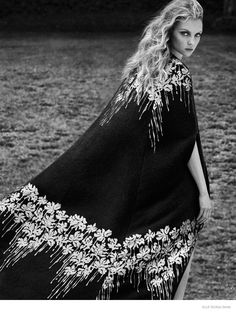 Heather Marks Models Dreamy Looks in Blumarine Fall 2014 for Elle Russia by Xavi Gordo