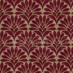 Портьерная, обивочная ткань Crespo Leaves Cardinal 0276004 цена по запросу