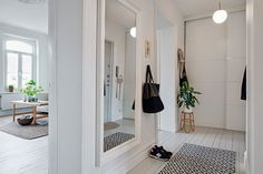 7 ideas para aprovechar pasillos y entradas