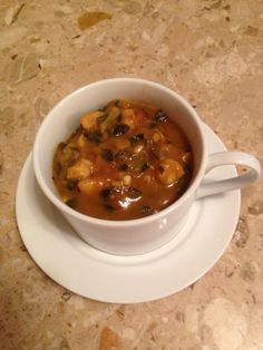 Hominy & Collard Greens Soup