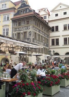~ Old Town, Prague ~  Travel to Prague on a Rick Steves Best of Prague & Budapest in 8 Days Tour: https://www.ricksteves.com/tours/eastern-europe/prague-budapest One Day 1, we'll take you on an orientation walk through Old Town and over the historic Charles Bridge. (Photo: Susan Green)