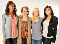 Teen Mom cast Farrah Abraham, Catelynn Lowell, Maci Bookout, and Amber Portwood.