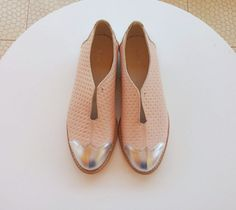 Pink Oxford flat shoes SALE 45% OFF NEW Special by ImeldaShoes