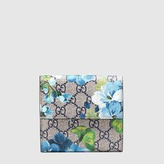 356ab9bd1063 GG Blooms french flap wallet - Gucci Painted Bags, Modern Luxury, Wallets  For Women