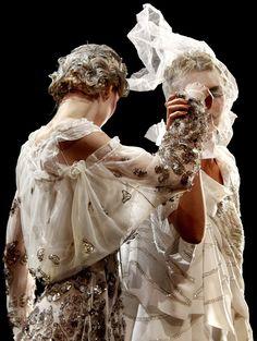 John Galliano Spring 2011  www.foreveryminute.com Luxury Silk Lounge and Sleepwear