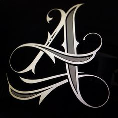 ✍ Sensual Calligraphy Scripts ✍ initials, typography styles and calligraphic art - Jared Mirabile