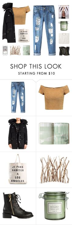 """"""" Left us in small boxes, dark rooms, bright screens, empty tombs. """" by centurythe ❤ liked on Polyvore featuring Chicnova Fashion, Alice + Olivia, The Kooples, Jasmin Shokrian, Giuseppe Zanotti and Monki"""
