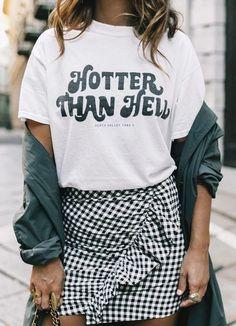 Pinterest : 25 façons de porter l'imprimé vichy | Glamour