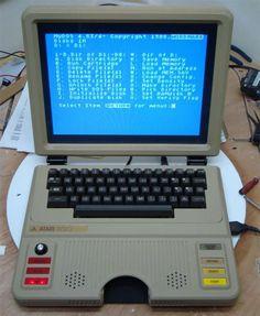 Atari 800 Laptop.