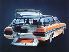 awesome Mercury Aurora concept car