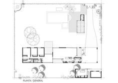 Gallery of Linear House / Roberto Benito - 15 Architecture Plan, Contemporary Architecture, Keep The Lights On, Unique House Design, Diy Porch, Ideal Tools, Concrete Blocks, Simple Lines, House Floor Plans