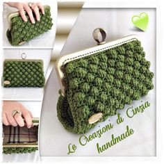 This Pin was discovered by tha The place where construction meets design, beaded crochet is the act of using beads to embellish crocheted items. Crochet is derived from the French croc Crochet Clutch Bags, Crochet Wallet, Crochet Baby Bibs, Crochet Coin Purse, Bag Crochet, Crochet Handbags, Crochet Gifts, Free Crochet, Purse Patterns