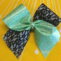 Lime, lace and bling, it's a girl thing!