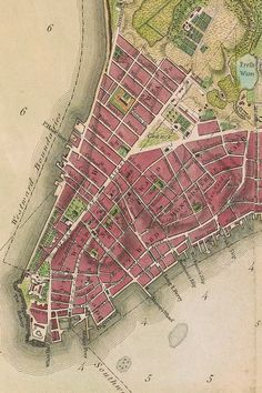 New York map printingNew York Map Illustrated Print - Sarah Frances - MapsyHow to Design a City Map - Fantastic MapsHow to design a city map - writing tips New York City Map, City Maps, Vintage New York, Vintage Maps, Antique Maps, New Amsterdam, Africa Map, Upstate New York, Urban Planning