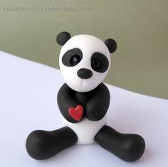 PANDA Fondant Idea