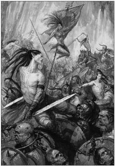 Danseurs de Guerre, par (auteur inconnu), in Warhammer Battle 7e édition livre d'armée des Wood Elves
