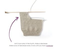 Learn How to Make this Knitted Baby Legging using Garter Stitch. FREE Step by Step Tutorial & Pattern. Baby Leggings Pattern, Baby Sweater Knitting Pattern, Baby Boy Knitting, Baby Knitting Patterns, Knitting Designs, Knitting Stitches, Baby Girl Dress Patterns, Baby Clothes Patterns, Baby Patterns