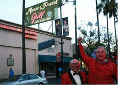 Musso and Frank Grill, Manny the waiter