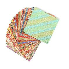 100 Sheets 14x14cm Mixed Pattern Japanese Flower Floral Origami Paper Handmade Materials Folded Paper Craft Pattern Random >>> Check this awesome product by going to the link at the image.