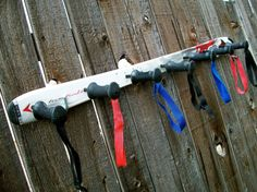 Dynastar Ski and Ski Pole Hanging Wall Coat Rack by SkiPolePlunger