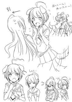 「絶望少女+αらくがきまとめ」/「mizuki」の漫画 [pixiv]