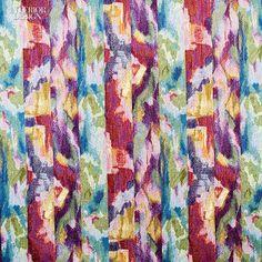 Editors' Picks: 96 Off-the-Wall Fabrics and Wallcoverings | Fadaise polyester-cotton blend by Valdese Weavers #design #interiordesign #interiordesignmagazine