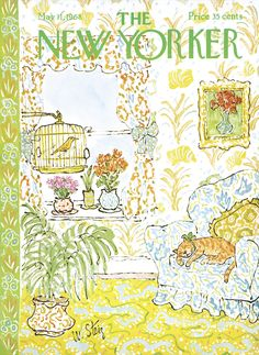 The New Yorker - Saturday, May 11, 1968 - Issue # 2256 - Vol. 44 - N° 12 - Cover by : William Steig