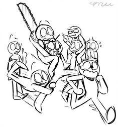 Drawing Meme, Funny Drawings, Art Drawings Sketches, Drawing Reference Poses, Drawing Poses, Funny Poses, Draw The Squad, Drawing Templates, Drawings Of Friends