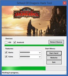 Download School of Dragons Hack Tool Cheats 2015 No Survey