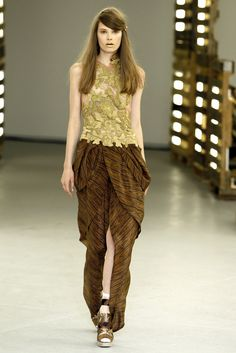 Rodarte Spring 2011 Ready-to-Wear Fashion Show - Caroline Brasch Nielsen