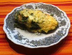 Wessels Küchenwelt: Hähnchenbrust mit Spinat + Käse überbacken