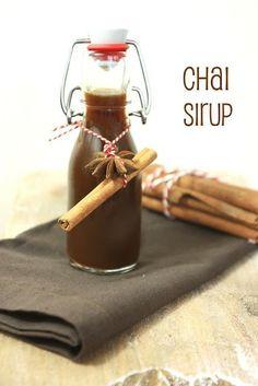 selbst gemachtes chai Sirup (besseres Rezept)