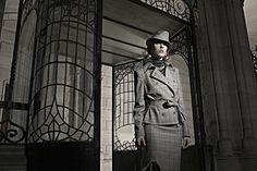Film noir style fashion narrative // Eugenio Recuenco