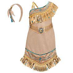Pocahontas Costume for Girls | Disney Princess | Costumes & Costume Accessories | Kids | Disney Store Exclusive | Disney Store